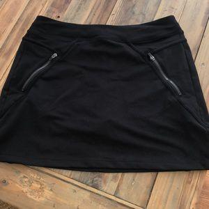 black athletic skirt (built-in shorts)